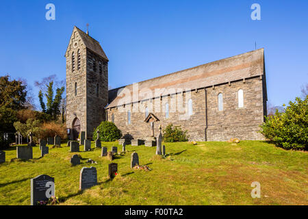 Sacred Heart Presbytery, Bowmanstead, Lake District National Park, Cumbria, England, United Kingdom, Europe. - Stock Photo