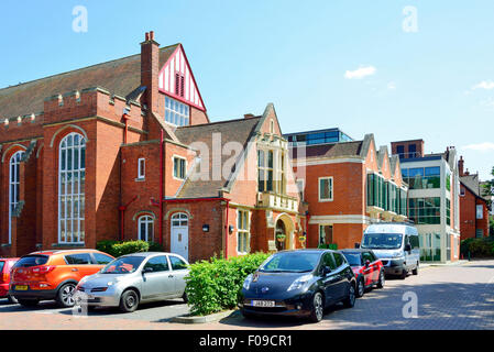 The Abbey School (Independent day school for girls), Kendrick Road, Reading, Berkshire, England, United Kingdom - Stock Photo
