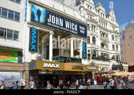 Empire Leicester Square Cinema and Casino, Leicester Square, West End, City of Westminster, London, England, United - Stock Photo