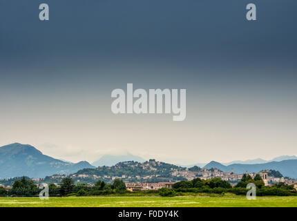 Bergamo, Northern Italy. - Stock Photo