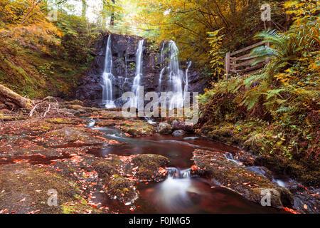 Ess-na-crub Waterfall - Stock Photo