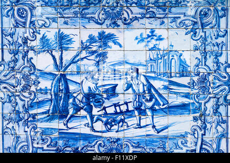 Monte Palace Tropical Garden Madeira Portugal - Stock Photo