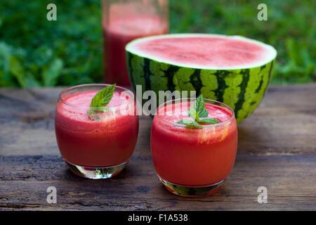 Watermelon  cocktail - Stock Photo