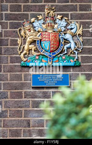 United Kingdom, London, The Goring Hotel, one of two adresses in town accredit for Royal family - Stock Photo