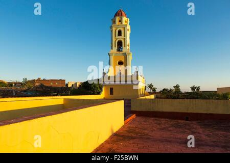 Cuba, Sancti Spiritus Province, Trinidad de Cuba listed as World Heritage by UNESCO, San Francisco de Assis church - Stock Photo