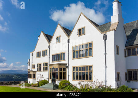 Grade 1 Listed Blackwell House designed by Baillie Scott built 1900 exhibiting Arts and Crafts treasures - Stock Photo