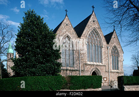 'Our Lady Star of The Sea' church, Sandymount, referred to in James Joyce 'Ulysses', Dublin, Ireland - Stock Photo