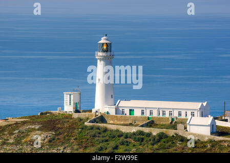 South Stack, Holy Island, Anglesey, Wales, United Kingdom - Stock Photo