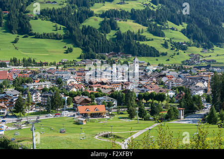 Innchen or San Candido, Dolomites, Trentino-Alto Adige, Province of South Tyrol, Italy - Stock Photo