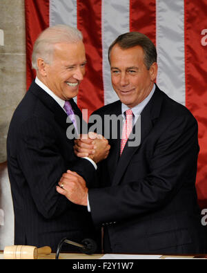 File. 25th Sep, 2015. Republican House Speaker JOHN BOEHNER will step down from his post as the country's number - Stock Photo