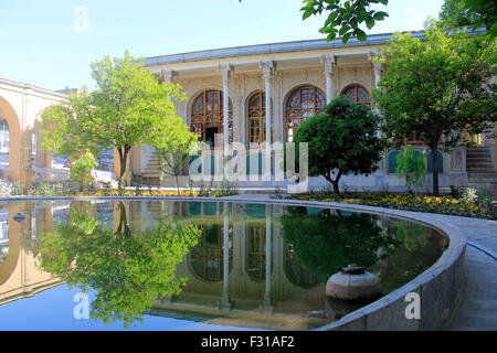 Masoudieh palace, Tehran, Iran - Stock Photo