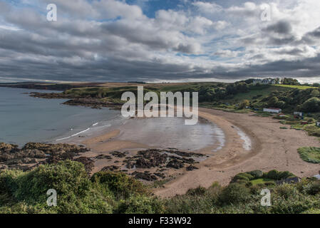 Coldingham Bay Berwickshire Scotland - Stock Photo