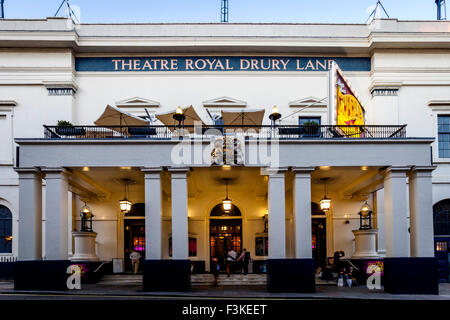 The Theatre Royal Drury Lane, Covent Garden, London, UK - Stock Photo