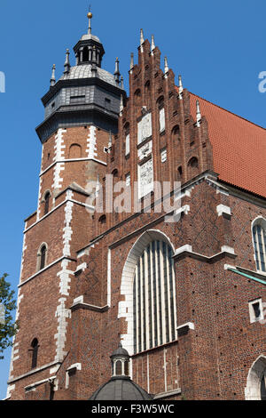 Corpus Christi Basilica in Krakow, Poland. - Stock Photo