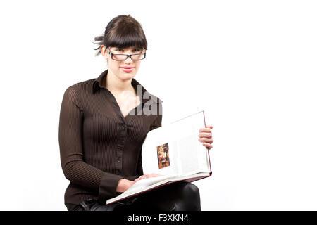 bookworm student - Stock Photo