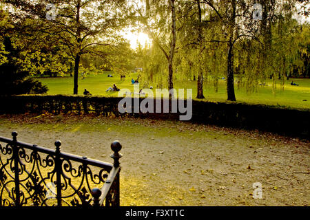 park, Berlin-Tiergarten - Stock Photo