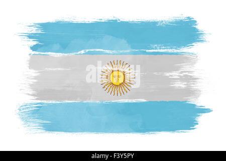 The Argentine flag - Stock Photo