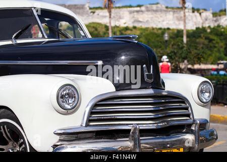 Karibik Kuba Havanna Oldtimer - Stock Photo