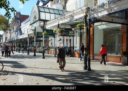 Lord Street Southport. Merseyside - Stock Photo
