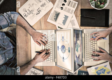 Composite image of brainstorm graphic - Stock Photo