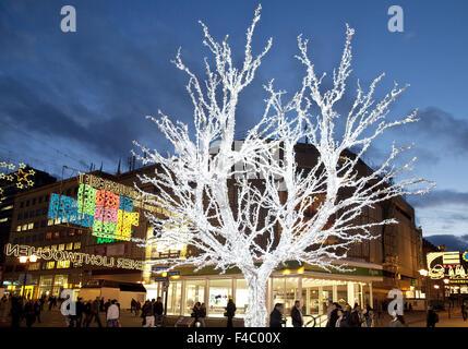 Event Light Weeks, Essen, Germany - Stock Photo