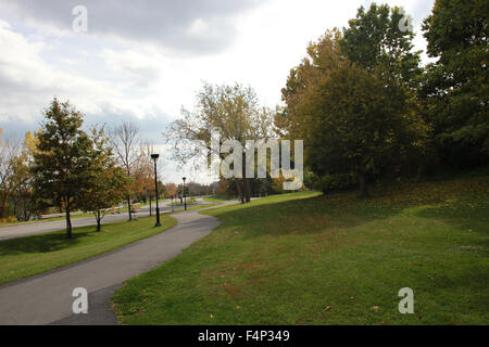 Saint Helen's Island In Montreal, Quebec. - Stock Photo