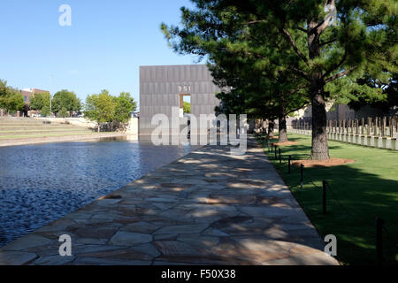 Oklahoma City Memorial - Oklahoma City - Stock Photo