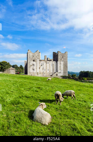 Bolton Castle, Castle Bolton, Wensleydale, Yorkshire Dales, North Yorkshire, England, UK - Stock Photo