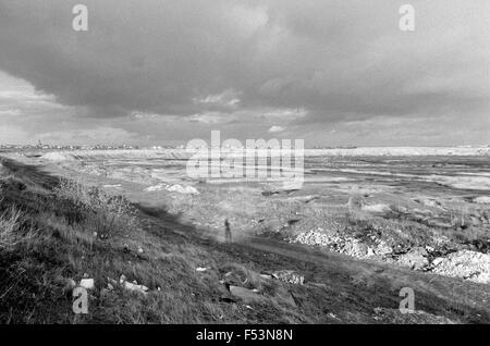 03.03.1990, Muehlbeck, Halle, German Democratic Republic - Cast mine in Muehlenbeck. 00P900303A180CAROEX.JPG - NOT - Stock Photo