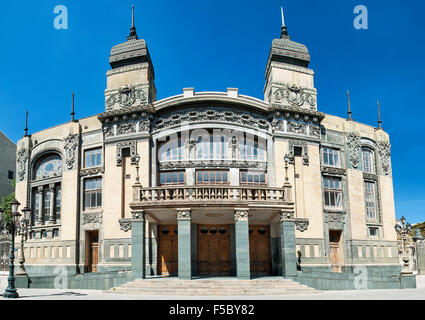 Akhundov Azerbaijan State Academic Opera and Ballet Theater in Baku. - Stock Photo