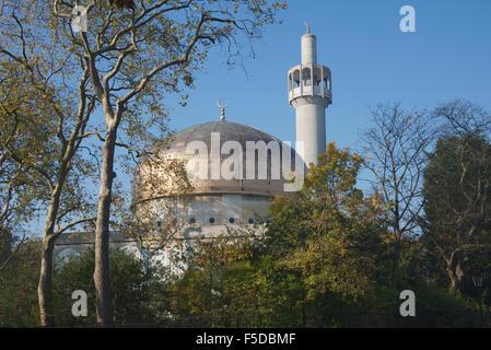 Regents Park Mosque Regents Park London England - Stock Photo