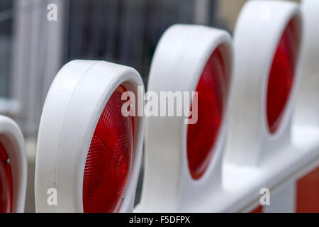Construction Barrier - Stock Photo