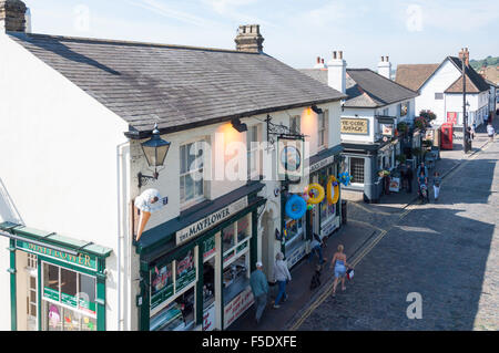 The Mayflower Pub, High Street, Old Leigh, Leigh-on-Sea, Essex, England, United Kingdom - Stock Photo