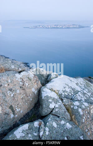 Sweden, Bohuslan, Astol, Island on sea - Stock Photo