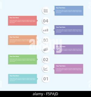 Minimal Infographic Template Design, VECTOR, EPS10 - Stock Photo
