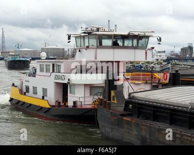 Bonanza - ENI 02320254, Van Cauwelaertsluis, Port of Antwerp pic1 - Stock Photo