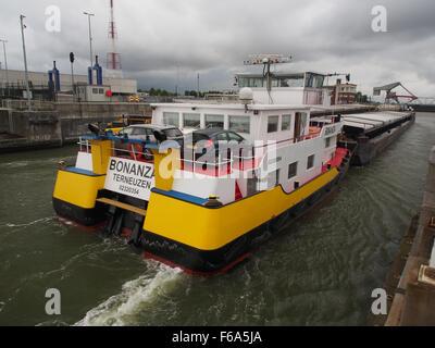 Bonanza - ENI 02320254, Van Cauwelaertsluis, Port of Antwerp pic3 - Stock Photo