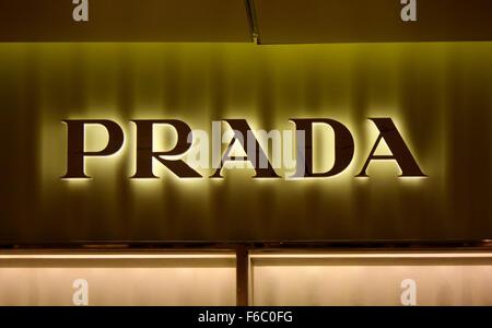 Markenname: 'Prada', Berlin. - Stock Photo