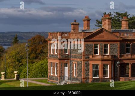 Cultra Manor, Belfast, Northern Ireland - Stock Photo