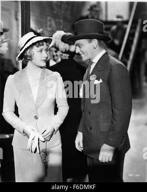 RELEASE DATE: October 23, 1939. MOVIE TITLE: The Roaring Twenties. STUDIO: Warner Bros. Pictures. PLOT: After the - Stock Photo