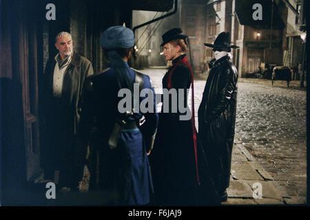 Jul 11, 2003; Los Angeles, CA, USA; Actor SEAN CONNERY stars as Allan Quartermain, NASEERUDDIN SHAH stars as Captain - Stock Photo