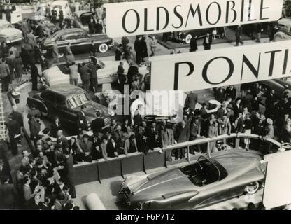 Car Show, Paris, France - Stock Photo