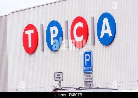 TPCA (Toyota Peugeot Citroën Automobile) factory  Czech Republic - Stock Photo