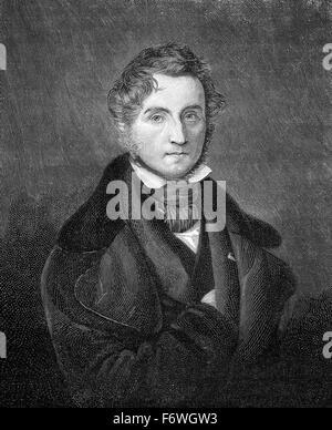 Justus von Liebig, 1803 - 1873, a German chemist and professor, - Stock Photo