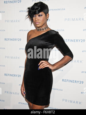 Philadelphia, Pennsylvania, USA. 19th November, 2015. Keke Palmer Poses at Primark's King of Prussia Store Opening - Stock Photo