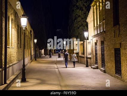 Ioane Shavteli Street in Tbilisi, capital of Georgia - Stock Photo