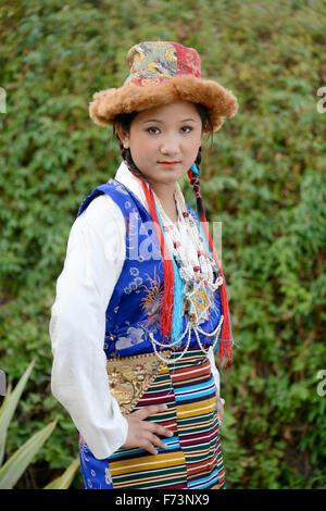 Tribal woman, sikkim, india, asia, mr#786 - Stock Photo