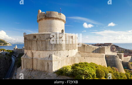 Dubrovnik, St John's Fortress, Croatia - Stock Photo