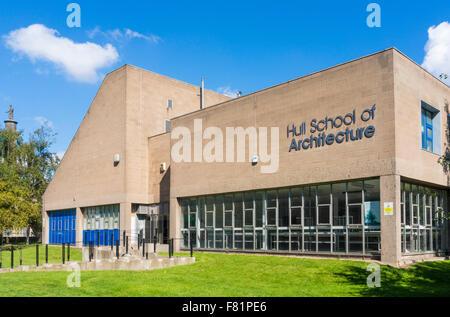 Hull school of architecture art and design Kingston upon Hull Yorkshire England UK GB EU Europe - Stock Photo