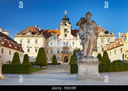 Valtice Castle, Czech Republic, Europe - Stock Photo